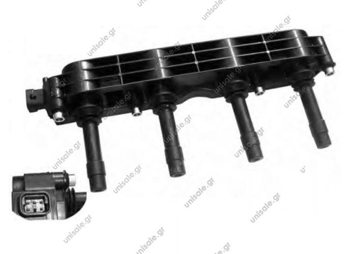 ZS259 BERU Πολλαπλασιαστής (ΚΩΔΙΚΟΙ OEM: 1208307) 6πόλων   ΠΟΛΛΑΠΛΑΣΙΑΣΤΗΣ OPEL GENERAL MOTORS (19005212) OPEL (12 08 307)