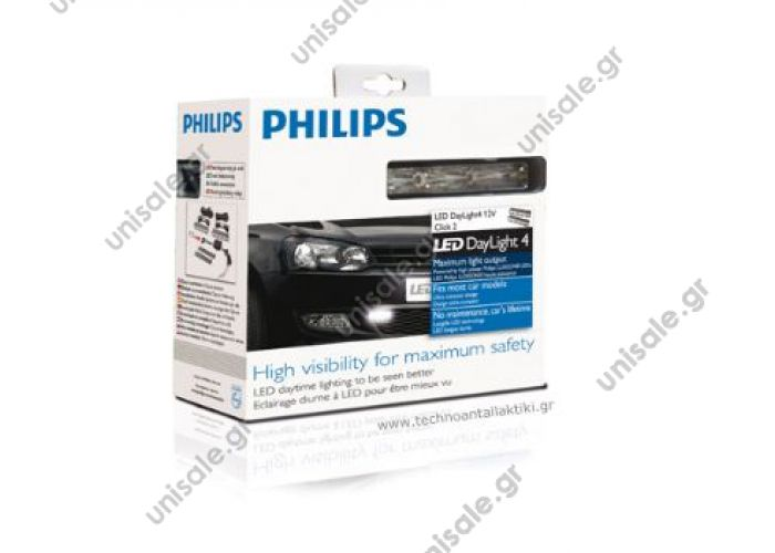 Philips LED DayLight 4 - 6.000°K Hight visibility for maximum sa