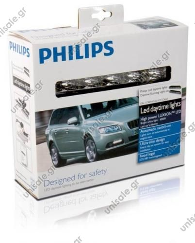 Philips LED Daytime Lights - 6.000°Κ