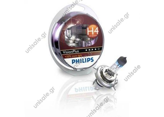 Philips Vision Plus +50% H4