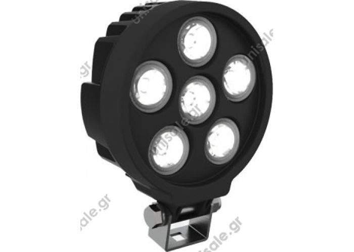 SANEL SWL-120 (Work light) Work Lamp & Spot Light SWL-120 (Work light)   Input Voltage	:10-30 VDC Current	:12V = 1600mA  	:24V = 800mA Type of Leds	:3W x 6 Quantity POWER LED Operating Temperature	:-40 ºC to +65 ºC Light Output	:1000 or 1500 Lumens