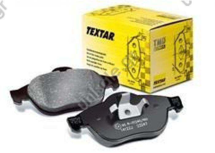 TEXTAR: 2355401   Τακάκια Textar για Audi S3 TT Golf IV GTI,Polo 9N GTI,Leon 1.8T, Σετ τακάκια, δισκόφρενα Πίσω άξονας