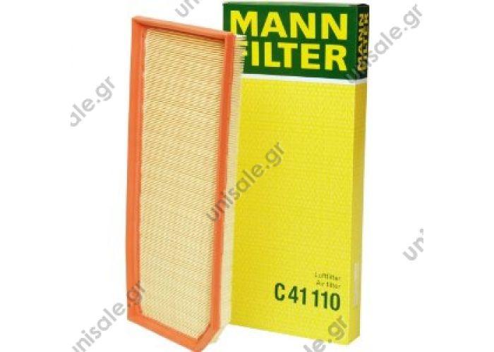 C 41 110 MANN-FILTER Φίλτρο αέρα   Φίλτρο αέρος Mann C41110 MANN-FILTER C 41 110 (C41110), Air Filter  KTM (XCP00000921) VAG (06F 133 843 A)