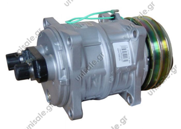 40430016 ΣΥΜΠΙΕΣΤΗΣ ZEXEL TM13XS 132A2 12V H-OR    TM 13 HD OR Horizontal 24V 5