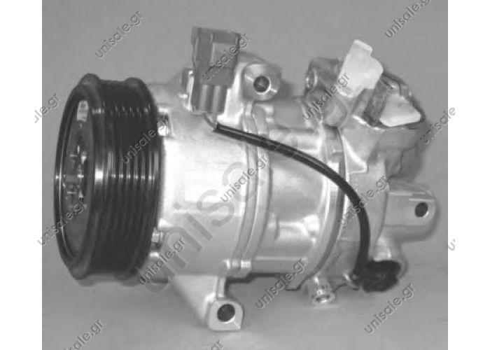 4542300111  ΣΥΜΠΙΕΣΤΗΣ SMART FORFOUR    Compressor Denso complete   Smart Forfour 1.1 - 1.3 - 1.5 4542300111 / 7813A058 Klimakompressor MITSUBISHI : MR568990 SMART : A4542300111, 4542300111   Smart Forfour Mitsubishi Colt original Denso neu 4542300111