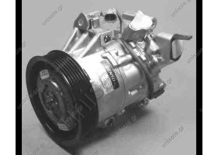 NRF 32614, Compressor, air conditioning TOYOTA YARIS 1999-