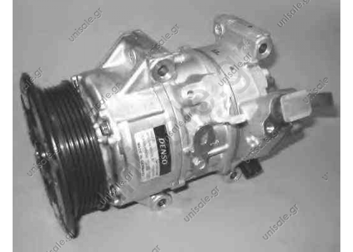 NRF 32648, Compressor, air conditioning DENSO DCP50122, Compressor, air conditioning   TOYOTA AVENSIS Estate	2003-... AVENSIS Saloon	2003-... AVENSIS	2003-.