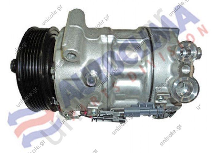 40405352 Opel Insigna 2.0T 9-5 2.0T Compressor Sanden Fix R134a TYPE : PXC16      OE: 13232305 - 13250607 - 13262836 - 1603 - 1661 - 6854109