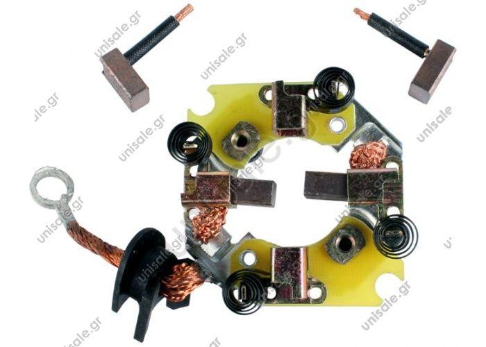 ΨΥΚΤΡΟΘΗΚΗ ΜΙΖΑΣ  0285100560 DENSO   1012032 Brush Gear - 1012032 Starter Brush 132559  Cargo:   132559 Denso:   028510-0560 Ika:   7.7170.1 MarioGhibaudi:   PAPA861 Krauf:   SHN2559    OEMReference (See Breakdown List) DENSO028510-0560 HC-CARGO132559