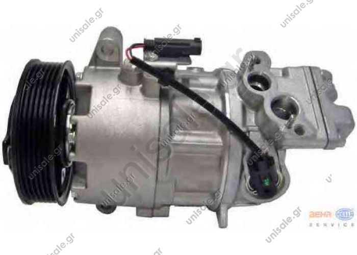 TSP0155959 ΣΥΜΠΙΕΣΤΗΣ BMW CALSONIC   Compressor A / C Calsonic C9E613C; 100 mm; PV6; 12V; H;    Compressor, air conditioning BMW E90 '06 64509145351 - 64526915380 - 64529145351 - 64529156821 - 64529182793  E90 / E91 Serie 3 316i - 318i - 320i