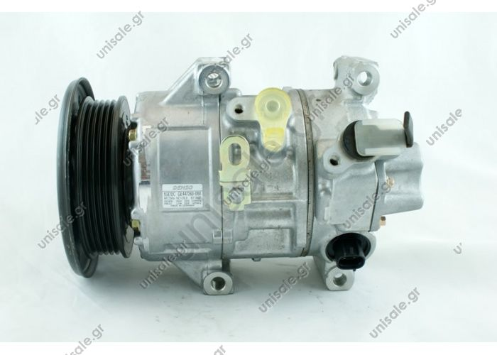 98835 (97835) ΚΟΜΠΡΕΣΕΡ TOYOTA AVENSIS,COROLLA VERSO 2.0D-4D -09      COMPRESSOR NEW MAKE - MODEL TOYOTA - AVENSIS D4D DENSO DCP50122, Compressor, air conditioning  DCP50123 COMP. AVENSIS 2.0 D-4D 03-