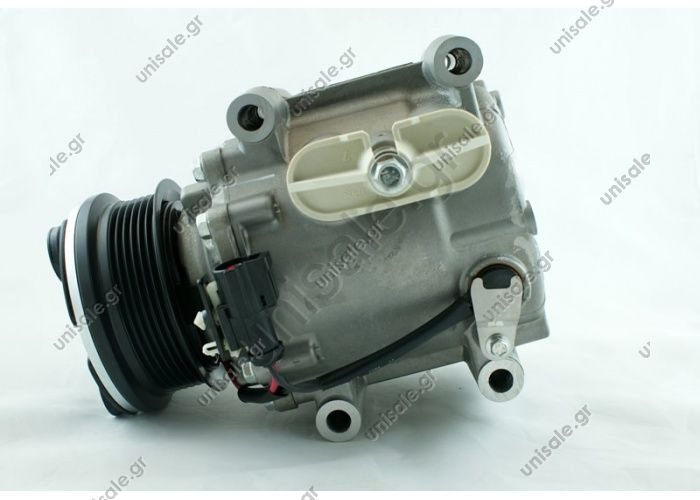 68134 (67134) COMPRESSOR NEW MAKE - MODEL-JAGUAR S-TYPE (4.0)   COMPRESSOR - FORD MODEL - SCROLL OF PK. - 6 DIAMETER WHEEL-97MM No Original XR81188/XR89202