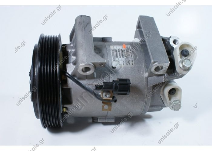 68418 (67418) MODEL NISSAN - ALMERA II (1.5,1.8)  CALSONIC MODEL - CSV13 DIAMETER WHEELS - 135MM NUMBER PK - 6 COMPRESSOR NEW No Original	92600-9F500/92600-9F501/92600-9F510 Power supply	12 V Manufacturer	Calsonic Pulley diameter [mm]	135 Number CP	6