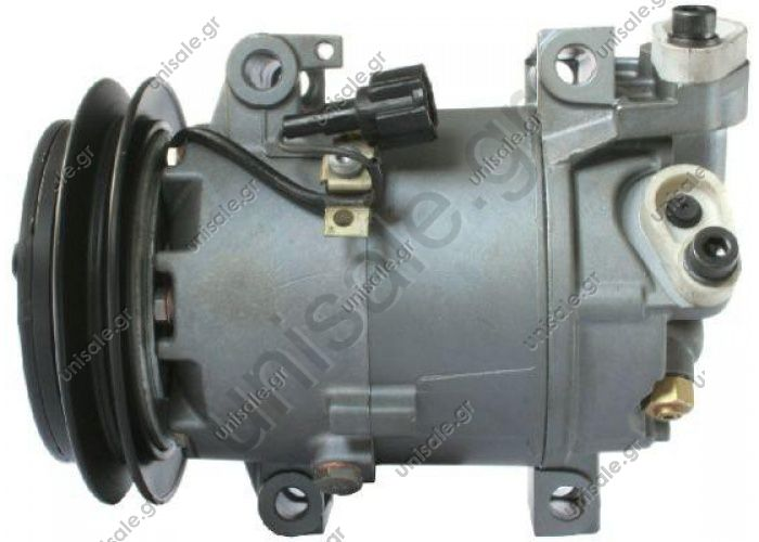 68432 (67432) MODEL NISSAN - ALMERA II (2.2 DI)  CALSONIC MODEL - DIAMETER WHEEL - 136mm NUMBER PK - 1 COMPRESSOR NEW No Original	92600-BN300/92600BN301/92600-BN310/92600-BN311 Power supply 12 V Manufacturer	Calsonic Pulley diameter [mm]	136 Number CP	1