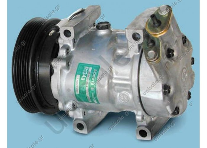 ΣΥΜΠΙΕΣΤΗΣ NISSAN KUBISTAR   NISSAN / RENAULT MODEL - KUBISTAR; CLIO II (1.4,1.6) CLIO (1.4,1.6) MEGANE SCENIC (1.4) Compressor - SANDEN MODEL - 6V12 DIAMETER WHEELS - 125MM NUMBER PK - 6 COMPRESSOR NEW No Original  2763000QAE 0.27630-00QAA