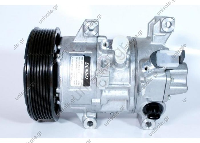 98799 (97799) ΣΥΜΠΙΕΣΤΗΣ TOYOTA AVENSIS DENSO 5SE12C     COMPRESSOR NEW MAKE - MODEL TOYOTA Avensis (T25) 1.8 / 2.0 / 2.4 (04.03 -)