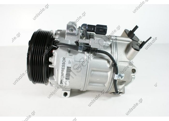 98800 (97800) MODEL RENAULT - Laguna III 2.0 16V 10.07 Compressor - Zexel KC-88 NUMBER PK - 6 MW. - 119mm COMPRESSOR NEW No Original	8200909753/8200720780 Power supply	12 V Manufacturer	Zexell Pulley diameter [mm]	119 Number CP	6