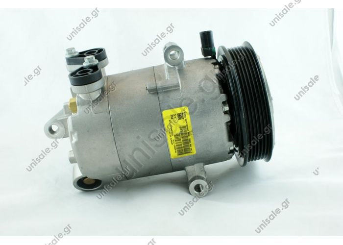 98870 (97870) CITROEN / FIAT / PEUGEOT MODEL - JUMPER 2.2 HDI 06 -; Ducato 2.3 JTD D; BOXER 3.0 HDI 2.2HDI, 3.0D Compressor - VISTEON VS-16 NUMBER PK - 6 MW - 129mm COMPRESSOR NEW No Original	6453.SR / 71789742/9658128580/1371569/1385920/1421334/1429044 /