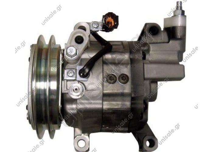 98905 (97905) MODEL NISSAN - X-TRAIL (2.2dCi) Compressor - ZEXEL OE: 926005M301 - 926005M30A  Nissan X-Trail  - 2.2 Di / DCi	07/01-10/05	92600-5M301	 Zexel DKV-11G   Single A Grove Belt Pulley  135 mm Dia. Pulley  NIS030CM0323