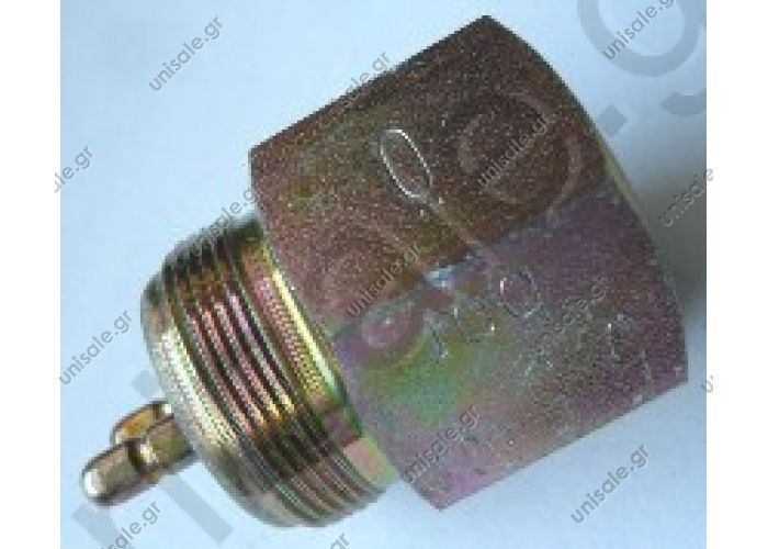 Switch 5,5 bar, M 12 x 1,5 / M 24 x 1  Art. No. 4.60466   000 545 54 14 W405 W425 UNIMOG SWITCH  Pressure switch, brake hydraulics Herth + Buss 70495151  Mercedes Benz:	 A 000 545 54 14000 545 54 14