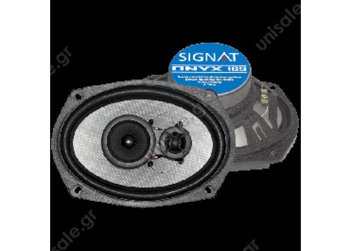 ONYX169  Signat ONYX 169 MAGNAT ULTMAGNAT ULTRA 690 3-WAY 6X9 SPEAKERS 150 WATTS MAX RA 690 3-WAY 6X9 SPEAKERS 150 WATTS MAX