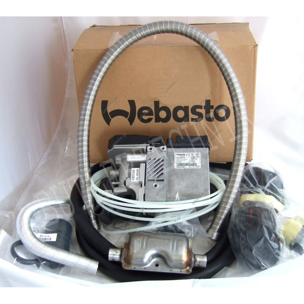 9003170c webasto thermo top e petrol gasoline water heater kit 12v on