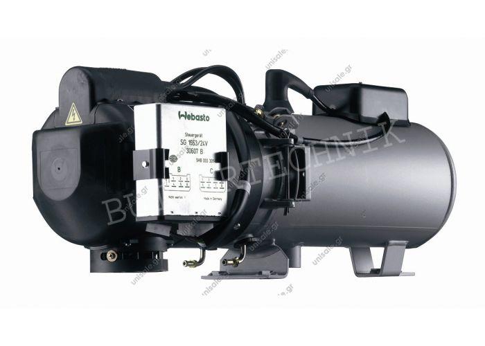 356.700 Webasto  DBW 2010 11.6kW 24v Heater 356.700 9023679A Webasto DBW2010 Diesel 24v Universal Large Water Heater – 9023679A -