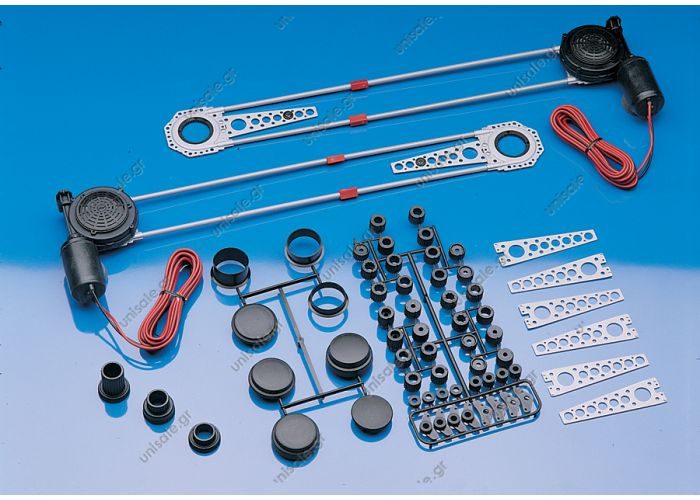 SPAL ΜΗΧΑΝΙΣΜΟΣ ΠΑΡΑΘΥΡΟΥ 12V DELUXE Part # 33000030 Deluxe Power Window Kit