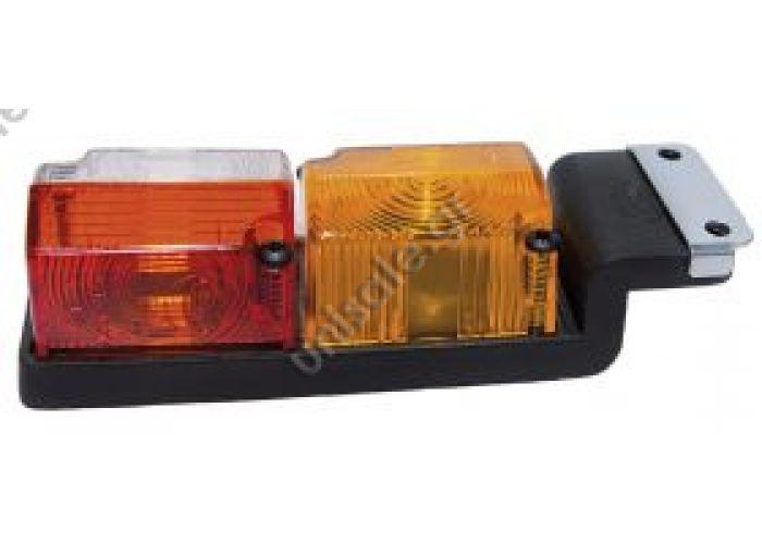512-2 ΦΑΝΟΣ ΟΓΚΟΥ 3 ΛΕΙΤΟΥΡΓΙΩΝ 512-2 Διάφοροι συνδυασμοί χρωμάτων .067 Διάφανο & κόκκινο .05 Κιτρινό .06 Κόκκινο