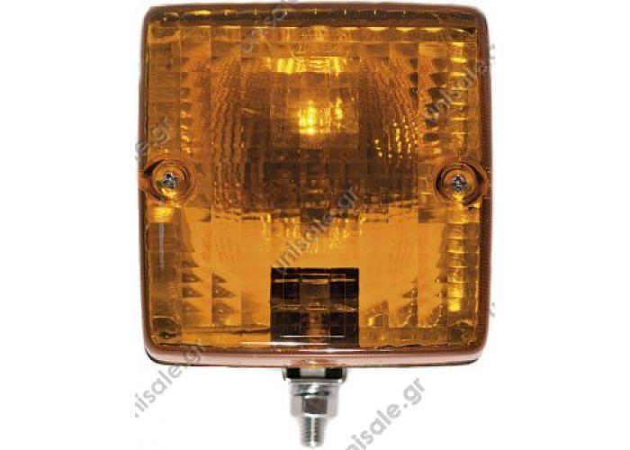 8080-95Β ΦΑΝΟΣ ΦΛΑΣ REF. NO. 8080/95B.05 Κιτρινός, με βάση για οριζόντια / κάθετη τοποθέτηση P8080-95.05 Πλαστικό κίτρινο
