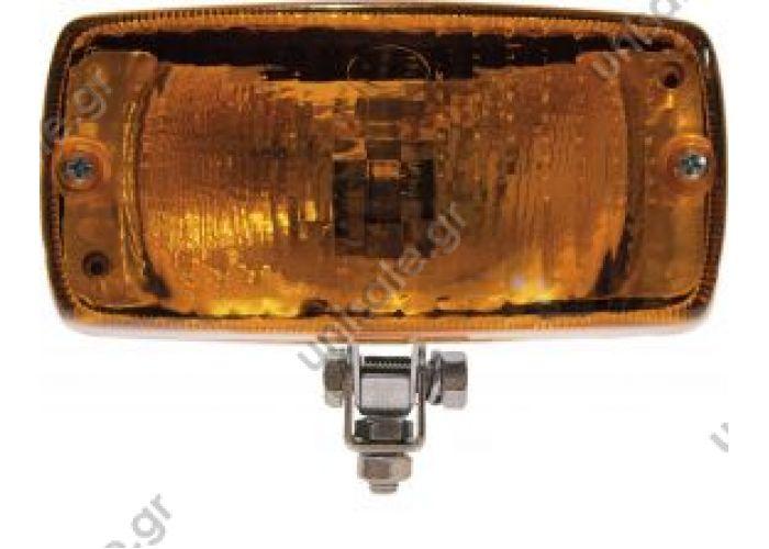 8080-96Β ΦΑΝΟΣ ΦΛΑΣREF. NO. 8080/96B.05 Κιτρινός, με βάση για οριζόντια / κάθετη τοποθέτηση P8080-96.05 Πλαστικό, κίτρινο   REF. NO. 8080/96B.05 Amber, with bracket for horizontal / fixing vertical  P8080-96.05 Amber lens