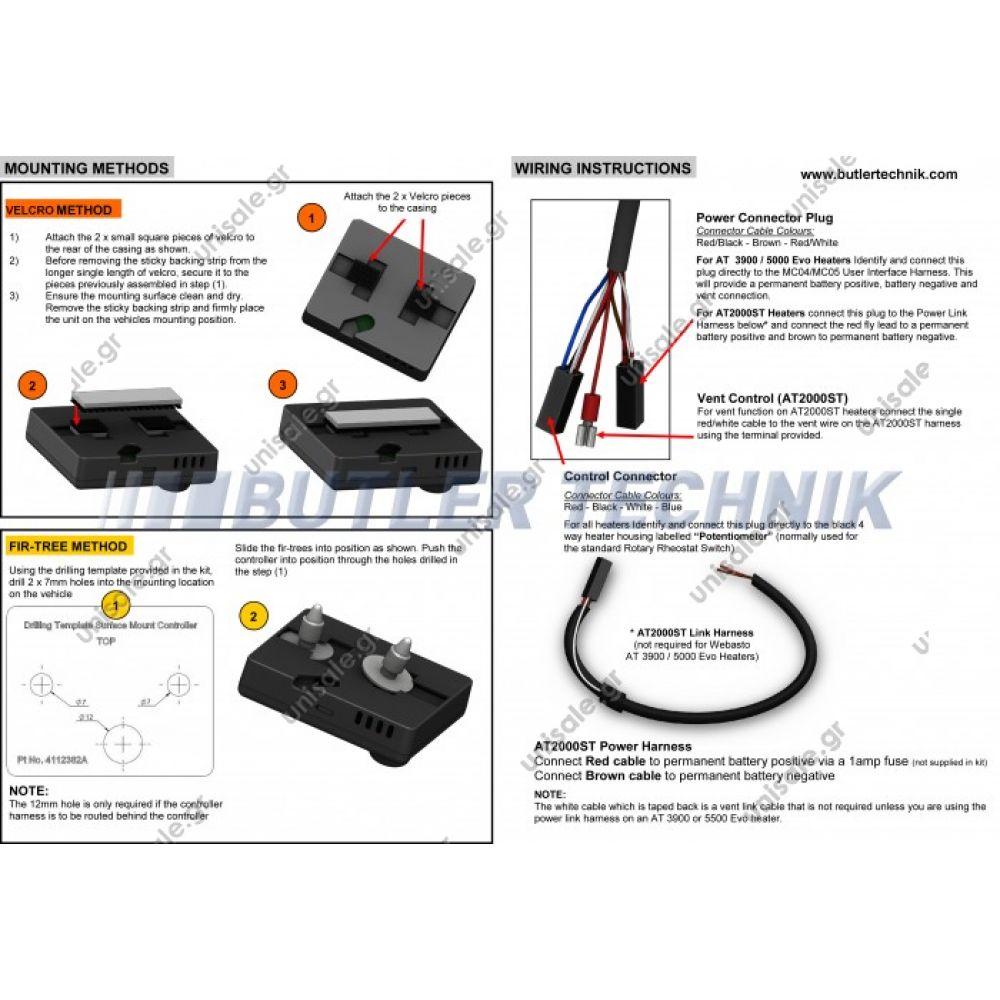 4112330a webasto heater smart controller