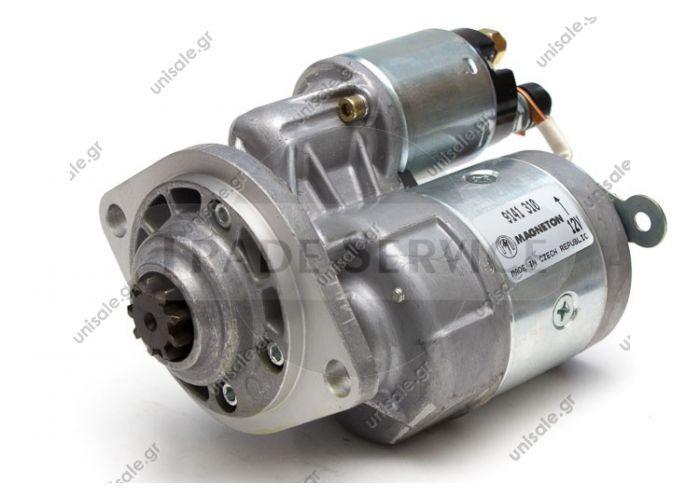 9141310 Magneton starter motor 12V 1.0kW z9 (New) SKODA FAVORIT 136 SKODA FELICIA  (XS 6U0911023B) ŠKODA    Startér    (1kW) XS 6U0911023B. 1.3i 136 B (1289ccm/50kW/68HP) [01/93-09/94]