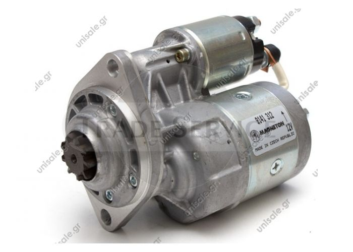 9141312 Magneton starter motor 12V 0.9kW z9 (New) SKODA105 GL SKODA AUTO02914207, 114904000, 443115142110, 443115142112   Anlasser 0.8KW Skoda 100_105 110 120 Coupe 1.0 1.1 1.2 GL L S LS R