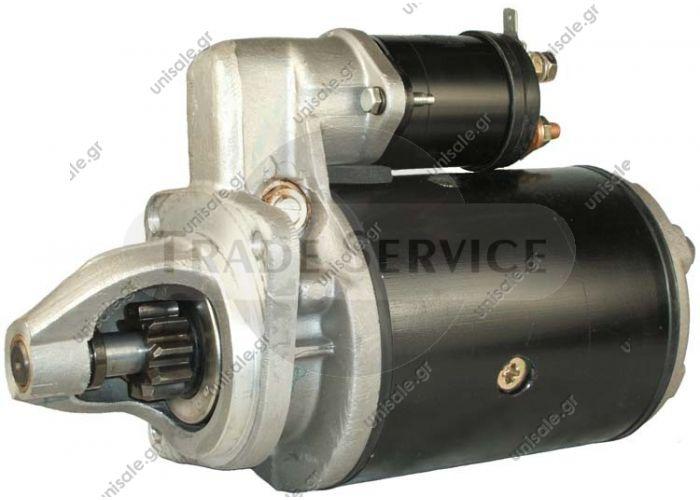20500969   ΜΙΖΑ  Prestolite starter motor 12V 2.8kW z10 (New) ΜΙΖΑ MM 12V 10Δ JCB\PERKINS (2,6KW)   113655, 2873K405, 2873K625, 63280041, 063280041010, MSN8041, 71440231, 254097,Case Compair Conveyancer Dennis FAI Fermec JCB  Lucas LRS232