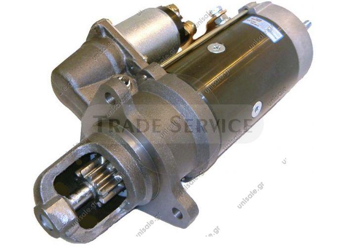 ΜΙΖΑ SCANIA 1357709 860305 Prestolite starter motor  24V 6.7kW z11 (New)  Starter Motor Starter SCANIA SERIE 4124 L440 L470    0001371006 0001371007 0986017760, 860305 DRS7760 332.009.114 452178,