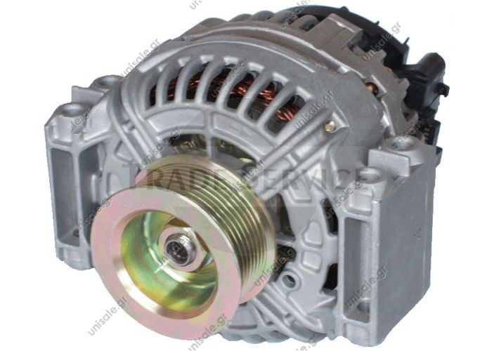 860805GB Prestolite alternator 24V 110A (New) SCANIA BOSCH 0 124 555 008 (0124555008), Alternator Prestolite Scania 24v Scania P/R/T Series 110A Alternator - 860805/860805GB