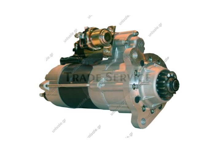 M105R3507SE Prestolite starter motor  24V 7.5kW z12 (New)  VOLVO B 121992-... FH 121993-... FM 121998-2005 NH 121999-...   Anlasser Cummins Volvo LKW M9T82171 usw. 24 Volt Original Mitsubishi