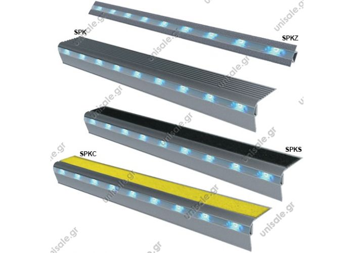 "SPKZ / SPK / SPKS / SPKC Series"" Continuous Step and Surface Lighting"