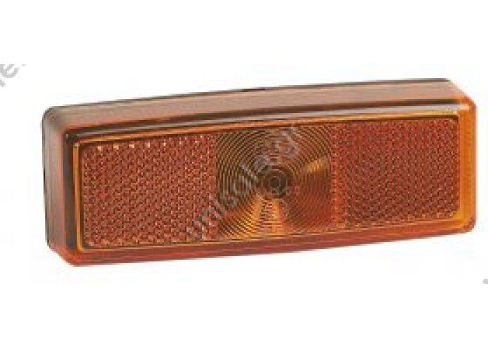 520-0 ΠΛΕΥΡΙΚΟΣ ΦΑΝΟΣ ΟΓΚΟΥ 520-0 Description:REF. NO. 520-0 Πλευρικός φανός όγκου με αντανακλαστήρα Kίτρινο