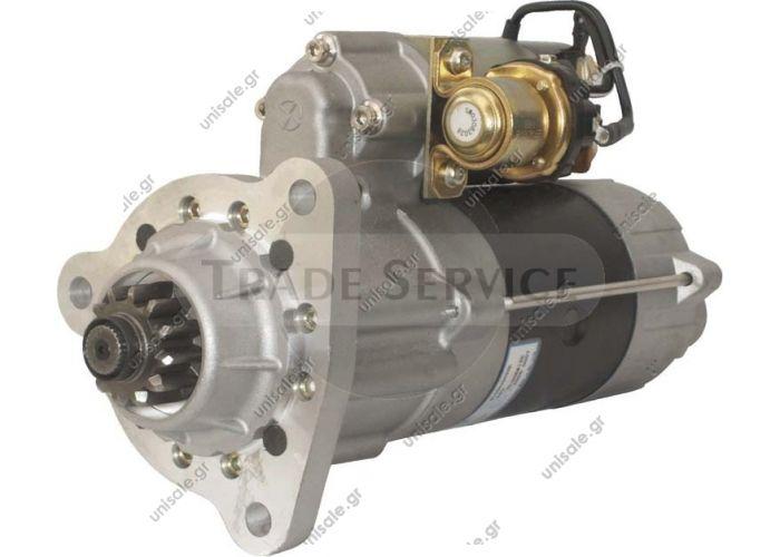 ΜΙΖΑ M105R3505SE Prestolite starter motor  24V 7.5kW z12 (New) CATERPILLAR CASE IH VOLVOFM 10   M105R3505SE M105705 NEW OEM LEECE NEVILLE STARTER