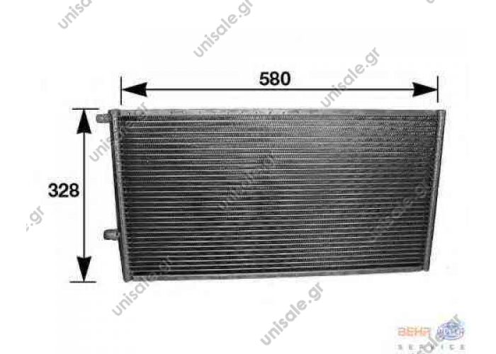 8FC 351 038-001  UNIVERSALCondenser, air conditioning   ΑΝΩ ΣΤΗΡΙΞΗ