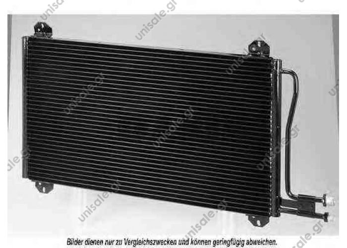 901 500 04 54  MERCEDES(9015000454)  ΨΥΓΕΙΑ A/C    Condenser, air conditioning  MERCEDES SPRINDER 0806.2074 MERCEDES SPRINTER 2-t Box	1995-2006 SPRINTER 2-t Bus	1995-2006 SPRINTER 2-t Flatbed / Chassis