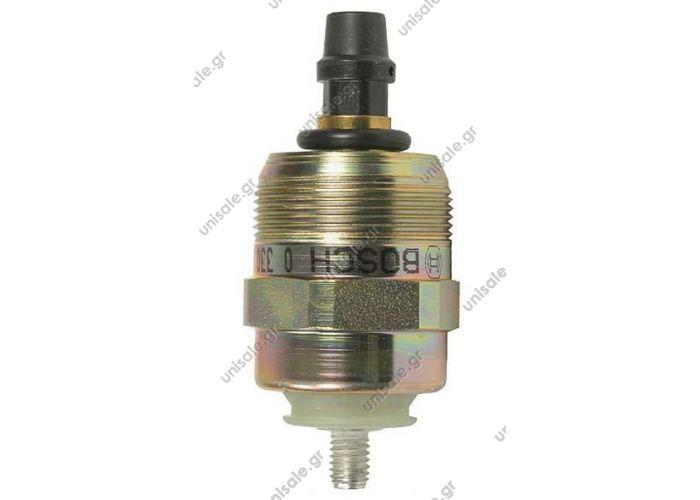 0330001047 ΗΛΕΚΤΡΙΚΟ ΣΒΗΣΤΗΡΙ       Fuel shut down Solenoid, Ref 0330001047, 0330001016, 096030-0080, 096030-0170, 146650-0820, 146650-1320 Stoppschalter 24V Bosch Denso Zexel