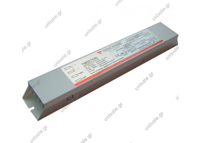 81.25943.6014  Ballast f. Lions City 24V/21W dimmable  Manufacturer Teknoware TM92754E  Ref.: 81.25943.6014