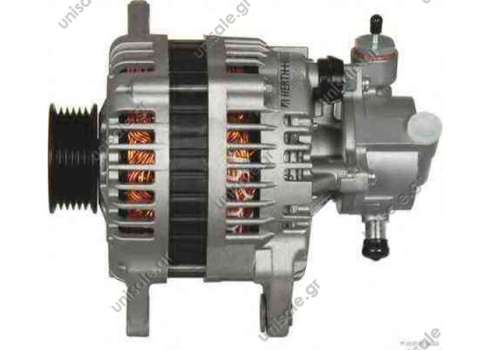 HITACHI  ΔΥΝΑΜΟ  12 V  100 Á  LR1100-507   OPEL OPEL ASTRA 1.7L T DSL 2004-ON    DIESEL 1.7  CDTI Unit Type: Alternator Mfr Type: Hitachi Voltage: 12Volt Rotation: Cw Amperage: 100 Amp Clock: 0 Pulley: SC6 Regulator: I/R   28-4922 LR1100-507 897369-5070