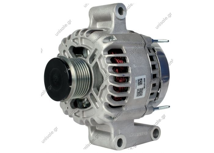VISTEON ΔΥΝΑΜΟ 12V 90A MONDEOIII  Replacing 1S7T-10300-CA Lucas LRA1150 Hella CA1635 Ford Mondeo 1.8i / 2.0i 16V (GE) 00>>  Voltage / Power:	12V 90 Amp Pulley / Drive:	Clutch Pulley PV6x52 Product Type::	Ford / Jaguar / Mazda