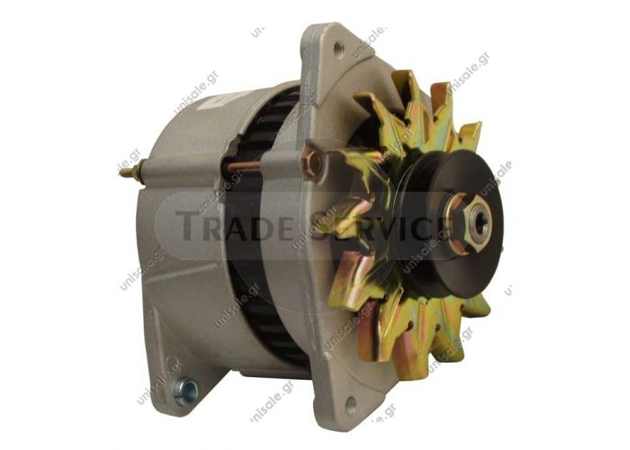 BOSCH 0120489895, Alternator Generator 12 Volt FORD Escort '86 '91 IV V VI VII 1,4 1,6 i Turbo RS XR3i LAND ROVER YLE10065MARELLI 63324400, MAN755  NEW HOLLAND 87800219  PRESTOLITE 66021636