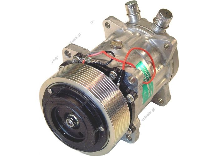8035 Compressor Sanden SH7H15 , 24V For driver's A/C Citaro / Konvekta  Compressor Sanden, Mercedes Citaro, PV10, 24v    Ref.:  A0008353003 , A0008352603 , B13AA1222