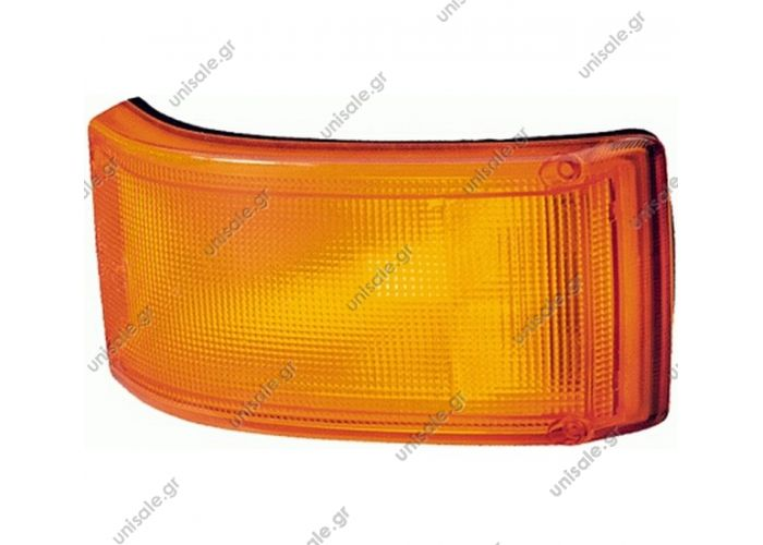 81252256449 ,   Flashing light front right/left For MAN , IkarusHELLA 2BA 005 603-001 (2BA005603001), Indicator; Indicator    Vergl.-Nr. 81252256449 , 7000460307 81.25225.6449